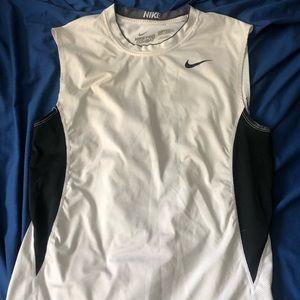 NIKE Pro Combat DRI-FIT Sleeveless Workout Shirt